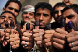 Yemen election ends Saleh's 33-year rule