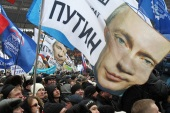 Despite a nascent opposition movement, Putin is a popular figure in Russia [EPA]