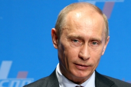 Vladimir Putin: 'A vote for stability'