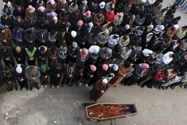 Rights groups mark one year of Syria uprising