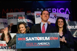 Despite lacking credibility, Rick Santorum's recent claims on euthanasia are still defended online [REUTERS]