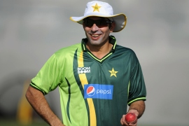 Coach Misbah-ul-Haq said the team was looking forward to exiting managed isolation [File: Gareth Copley/Getty Images]