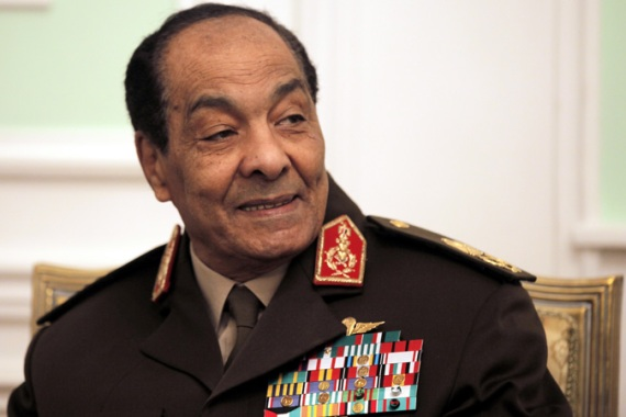 The generals, led by Field Marshal Mohamed Hussein Tantawi, will have the power to write laws and the budget [EPA]