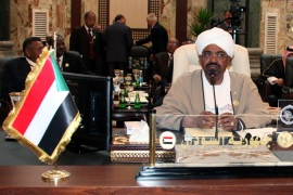 Sudan's President Omar al-Bashir has been scrambling to keep his government under control [EPA]