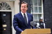 David Cameron's government is considering a series of laws that would dramatically restrict online privacy [EPA]