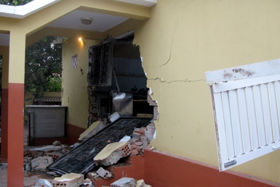 Prime Minister Carlos Gomes Junior's home reportedly came under attack before he was abducted by coup leaders [EPA]