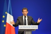 President Sarkozy is facing a tough re-election battle [EPA]