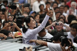 Suu Kyi upbeat about post-poll Myanmar