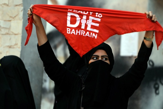 Almost daily protests have been held against Bahrain's hosting of the Formula One Grand Prix later this month [EPA]