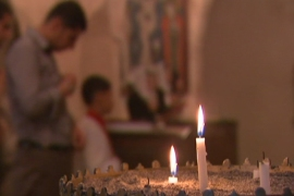 Christians on Syria's border wary of future