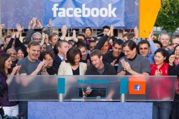 Facebook's now-public status may be good for its policies as its board and policy staff may be more inclined to respond to privacy and free expression concerns on the platform [EPA]