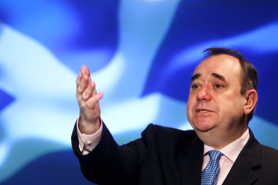 Alex Salmond, the first minister of Scotland, is spearheading the drive for independence [Getty Images]