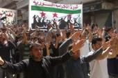 Assad's crackdown on peaceful demonstrations created huge challenges for the opposition movement [EPA]