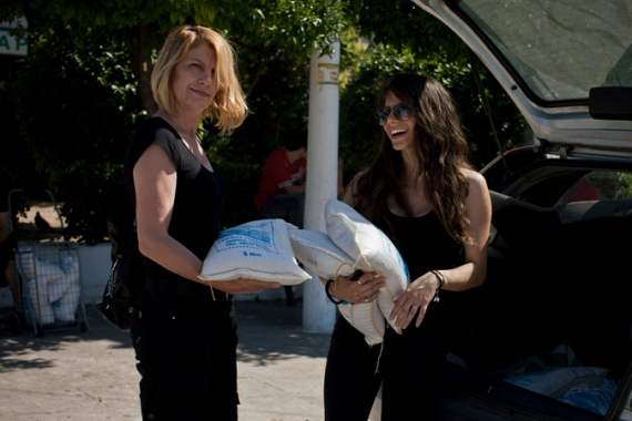 Recession-hit Greeks can now buy rice for a euro per kilo directly from producers [Anna Psaroudaki/Al Jazeera]