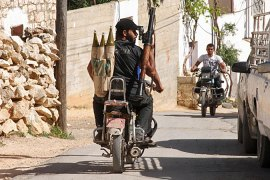On the front lines of Syria's guerrilla war