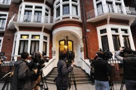 Julian Assange requested asylum in Ecuador and is sheltering in the South American country's London embassy [EPA]