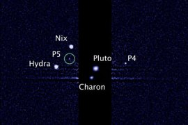 The moons are thought to have formed after an ancient collision between Pluto and an object in the Kuiper Belt