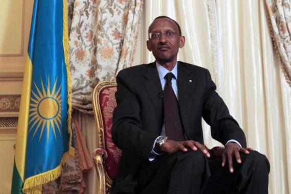 President Paul Kagame of Rwanda denies funding the M23 armed group operating in DR Congo [AFP]