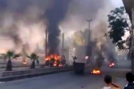 Some 200 people were killed across Syria on July 18, as fighting broke out on the streets of Damascus [AFP/YouTube]