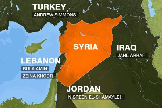 Interactive The Battle For Syria S Borders News Al Jazeera