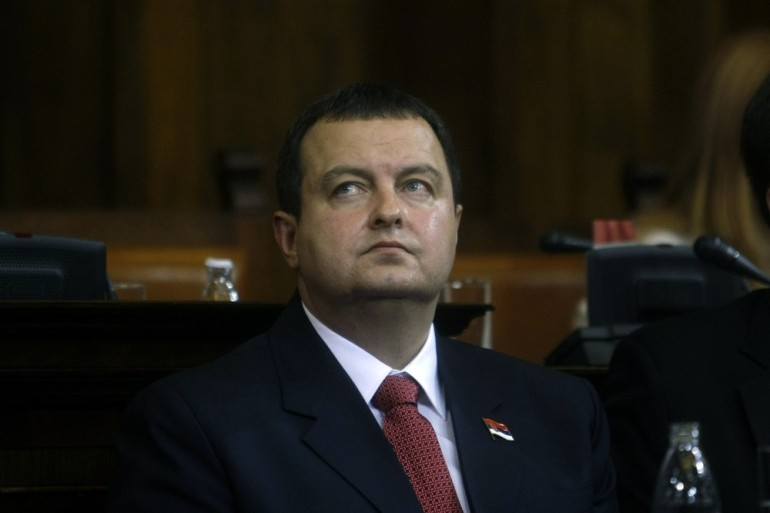 Ivica Dacic, the wartime spokesman of late Slobodan Milosevic, was sworn in as Serbia(***)s new prime minister, triggering unease despite his proclaimed pro-EU positions.