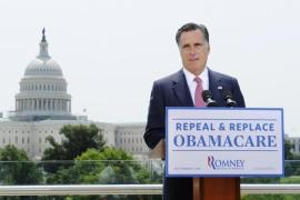 As governor of Massachusetts, Romney crafted legislation requiring citizens to purchase health insurance [Reuters]