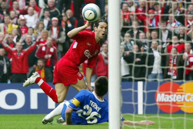 Then-Chelsea manager Jose Mourinho coined the phrase (***)ghost goal(***) after a controversial goal in the 2005 Champions League semi-final against Liverpool. The game was decided by a single goal from Luis Garcia that Mourinho maintains never crossed the line.
