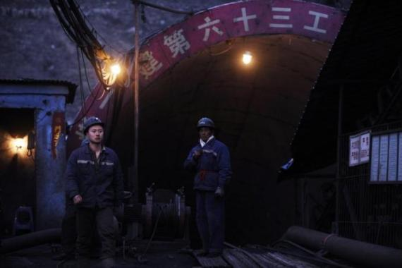 China has the world's deadliest coal mine industry [AFP]