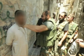 Rebels face 'spy network' in Aleppo