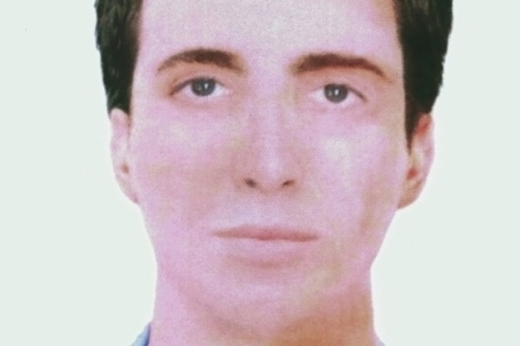 The image of the dark-haired man was produced after reconstructing the badly damaged face of the bomber [Reuters]
