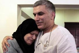 Bahraini human rights activist Nabeel Rajab was recently released from jail [AP]