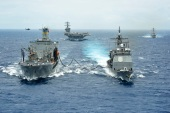 Maritime warfare exercises in 2012, brought together 25,000 personnel from 22 nations [EPA]