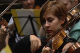Iraq youth orchestra finds harmony abroad