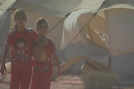 Syrians face harsh conditions in Jordan camp
