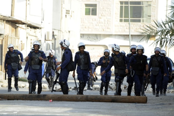 Shia- dominated Sitra island is the scene of frequent clashes between security forces and demonstrators [Reuters]