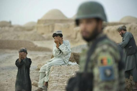 "Every Afghan knows ""they are occupied""; every Afghan feels keenly ""the embarrassed sting of subjugation"" [AFP]"