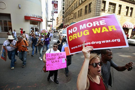 Many countries in Latin America are pushing for a new approach to anti-drug policy [Reuters]