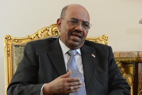 Bashir had been en route to the inauguration of the new Iranian president, Hassan Rouhani [Reuters]
