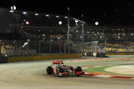 Can McLaren make it four wins out of four at the Singapore Grand Prix? [AFP]