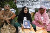 "Forced disappearance continues as ""a state-sanctioned practice in many countries even today"" [EPA]"