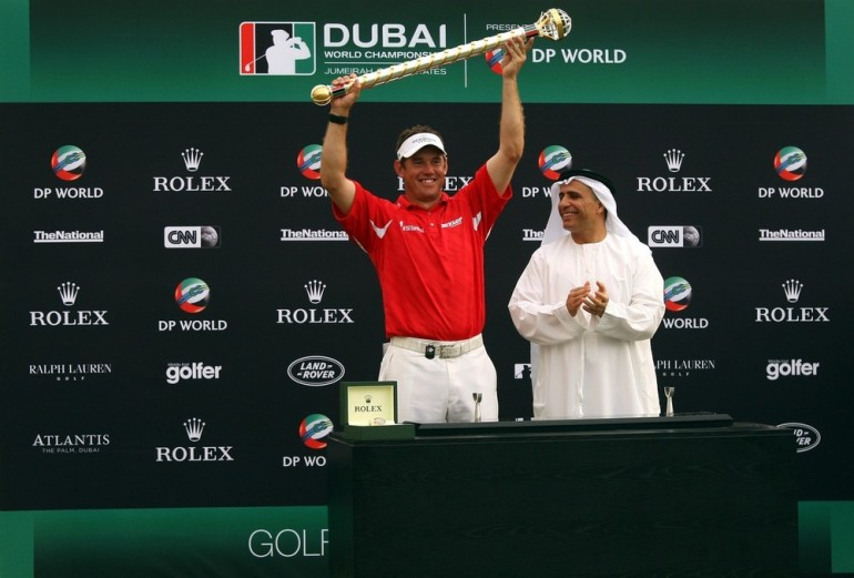 In 2009, Rory McIlroy(***)s youthful aspirations were thwarted by England(***)s Lee Westwood. Then only 20, McIlroy led Westwood going into the Dubai World Championship but couldn(***)t compete as Westwood shot a course record 64 to finish on 23 under par.