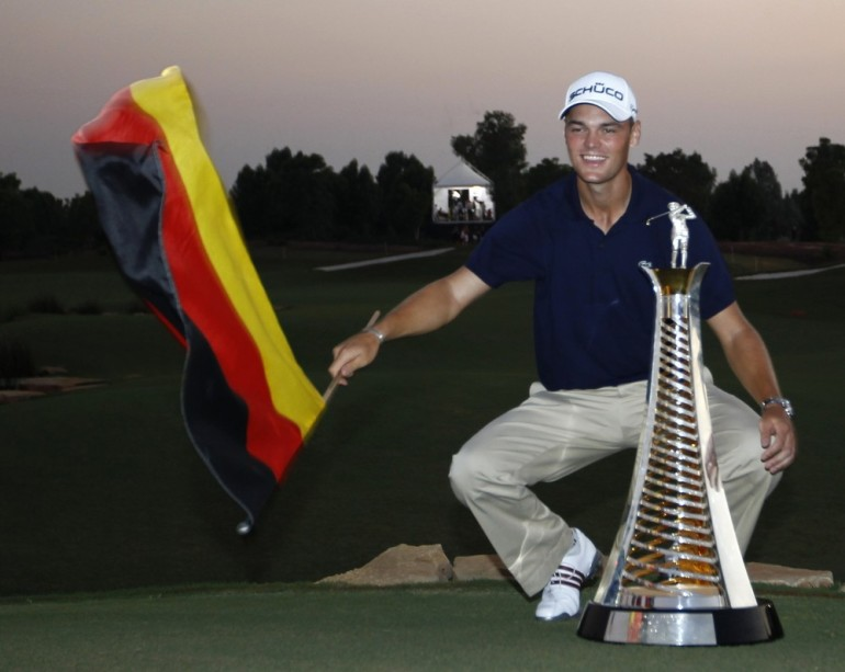 Martin Kaymer was the man who holed the putt to give Europe victory in the 2012 Ryder Cup. However, 2010 was also a big year for the German golfer. On the back of his US PGA Championship win, he held off Ireland(***)s Graham McDowell to win the Race of Dubai.