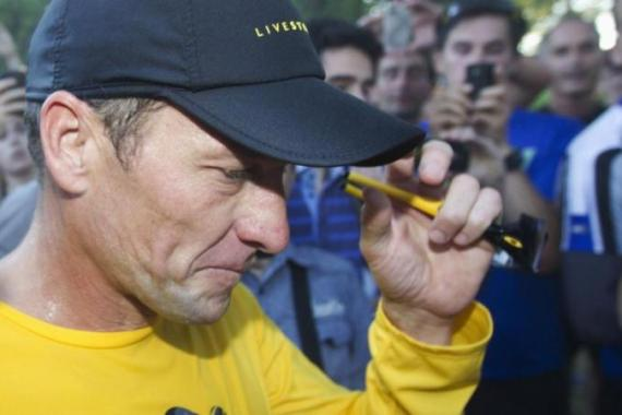 Armstrong is set to lose his seven Tour de France titles for taking part in a sophisticated doping scheme [Reuters]