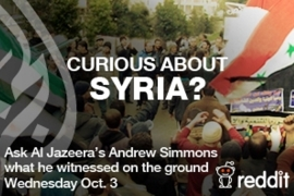 Andrew Simmons: Ask Me Anything on Syria