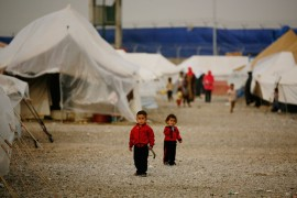 Children are a common sight in the streets of the refugee camps. In Islahiyeh, they make up roughly half of the camp(***)s 7,825 residents.