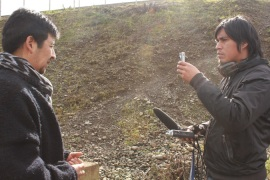 As a graduate of journalism Pascual uses his media skills to further the Mapuche cause [Al Jazeera]