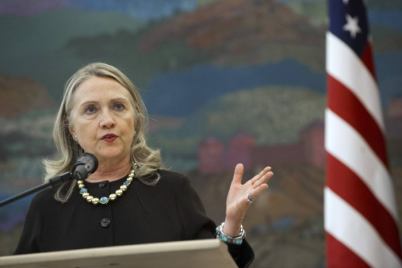 US secretary of state Hillary Clinton will announce the shift in a meeting with the Somali president [Reuters]