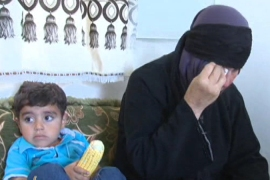 Syrian family traumatised by war