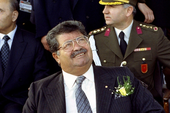 Ozal, eighth president of Turkish Republic, was seen as a moderniser who led Turkey out of military rule [File: Reuters]