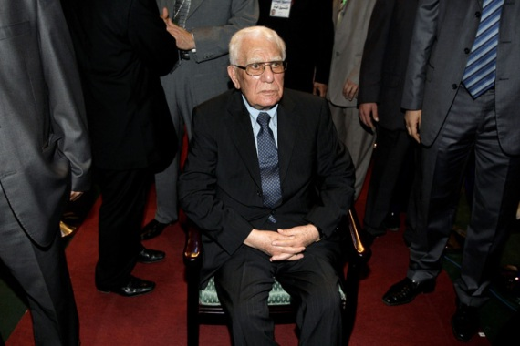 Chadli Bendjedid was one of Algeria's longest-serving presidents until he was forced from power in 1992 [EPA]